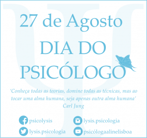 Dia do Psicólogo 27 de Agosto
